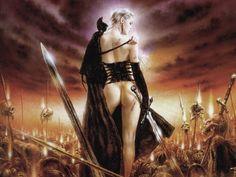 Fantasy Art - Luis Royo                                                                                                                                                                                 Plus