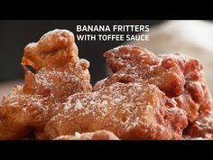 foodiesofsa | Banana Fritters with Toffee Sauce