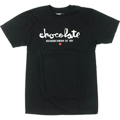 Chocolate Chunk Est Short Sleeve M-Black/White T-Shirt - http://shop.dailyskatetube.com/product/chocolate-chunk-est-short-sleeve-m-blackwhite-t-shirt/ -  Chocolate skateboard T-shirts are heavy duty and feature the best designs. Chocolate Bite EST T-Blouse is in stock at Warehouse Skateboards and in a position to be shipped. Emblem: Chocolate Dimension: Medium Ride in taste with this awesome modern Chocolate Bite Est Brief Sleeve M-Black/White -