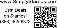 Custom 3 Line QR Code Stamp - Simply Stamps