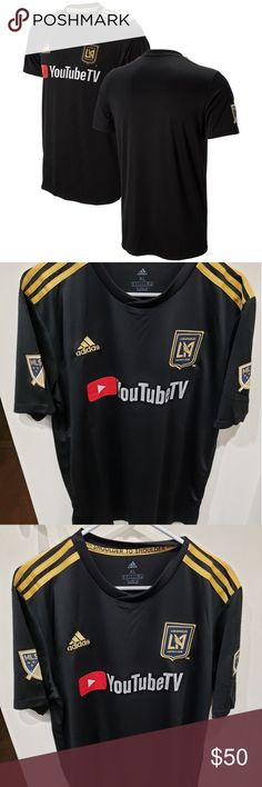 I just added this listing on Poshmark: Men's LAFC adidas Black jersey primary Black Adidas, Adidas Men, Adidas Soccer Jerseys, Major League Soccer, Pitch, Man Shop, Graphics, Fan, Technology