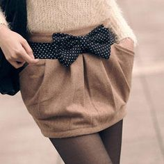 love the textures and the bow
