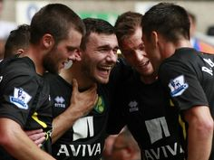 But Robert Snodgrass celebrates grabbing a point for the visitors
