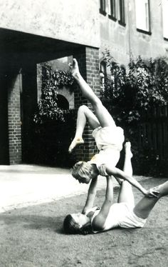 yoga family. That's intense.