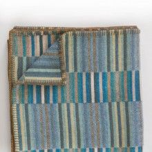 Reeds Throw – Turquoise