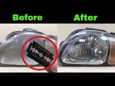 This time i have done car headlights restoration, headlights was very foggy, and deep scratches on it. first of all I disassembled headlights and clean with . Polish Headlights, Cleaning Headlights On Car, How To Clean Headlights, Foggy Headlights, Car Cleaning Hacks, Car Hacks, Headlight Cleaner, Headlight Restoration, Car Fix