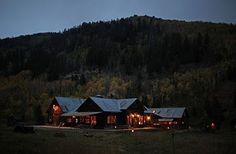 Dunton Hot Springs, in the San Juan Mountains of the Colorado Rockies.