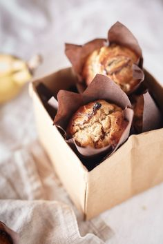 spiced banana and sticky date muffins