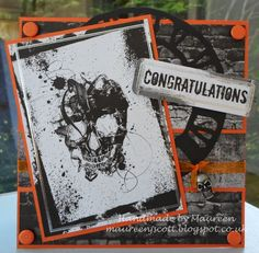 Made by Maureen Scott Using Gothic Lace/Gothic Grunge paper kits from Lelli-Bot Crafts