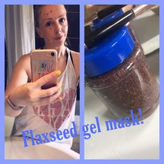 Flaxseed Gel mask !! Gel Face Mask, Tighten Loose Skin, Flaxseed Gel, Face Treatment, Spa Treatments, Natural Skin, Im Not Perfect, Moisturizer, Healing
