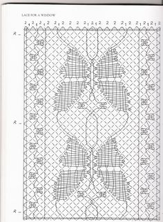 "ENCAJERAS DE BOLILLOS ""Ibn al Baytar"": PATRÓN CHAL DE MARIPOSAS Bobbin Lacemaking, Bobbin Lace Patterns, Crochet Butterfly, Lace Heart, Lace Jewelry, Needle Lace, Lace Making, Irish Crochet, Stitch"