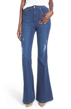 James Jeans High Rise Flare Jeans (Barcelona)