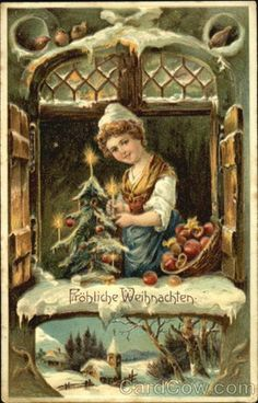 1000 images about german christmas cards on pinterest. Black Bedroom Furniture Sets. Home Design Ideas