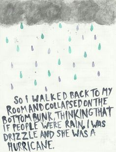 Looking for Alaska... I loved this before I knew it was from this book.  Love it more now!