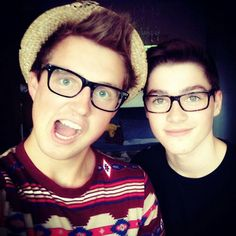 Marcus Butler and Jack Harries
