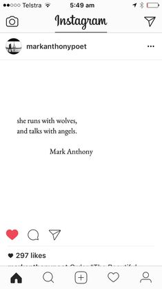 Mark Anthony poem