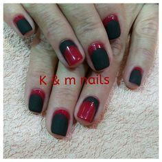 Red - Black matte finish!