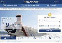 Nuovo sito Ryanair, la compagnia irlandese lancia il nuovo design del suo sito web!Scopri come usarlo per trovare offerte di voli low cost, leggi l'articolo