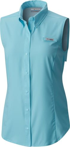 5bf3db16aaea4 Columbia Women s PFG Tamiami Sleeveless Shirt