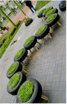 spare tire stools