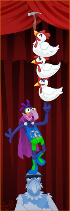 The Great Gonzo & Sam Eagle