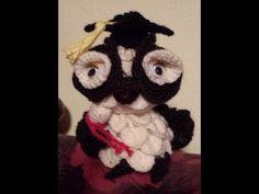 Gufo laurea amigurumi - tutorial Uncinetto.crochet