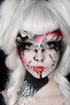 Anastesija is doing an amazing job. You may know her under the name of rottenzombiefairy on YouTube (http://www.youtube.com/user/rottenzombiefairy/featured). If you want to support her, don't hesitate to vite for her to the Illamasqua contest, by liking the photo you'll find in the link bellow : https://www.facebook.com/photo.php?fbid=10151060349581567=a.10151060349156567.421955.32415626566=1 Thank you, she truly deserves it ! #AnastasijaBondarenko #makeup #illamasqua