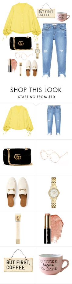 """Untitled #35"" by nandawelly on Polyvore featuring MANGO, Gucci, Full Tilt, Kate Spade, Yves Saint Laurent and Bobbi Brown Cosmetics"