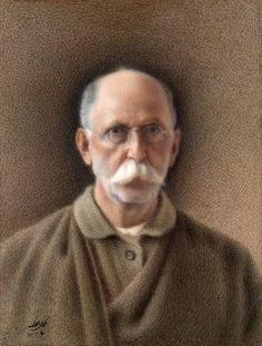 Mohammad Ghaffari (1845 - 18 August 1940), better known as Kamal-ol-Molk (also Kamal-al-Molk), was an Iranian painter and part of the Ghaffari family in Kashan.