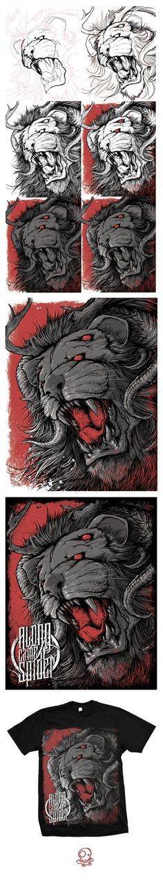 Beast of War 2 by Tim Hastings, via Behance