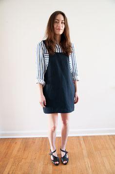 crabandbee.com | self-drafted jumper dress