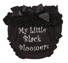 My Little Black Bloomer