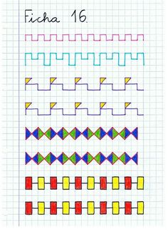 Graph Paper Drawings, Graph Paper Art, Improve Your Handwriting, Handwriting Practice, Early Finishers Activities, Boarder Designs, Fine Motor Activities For Kids, Writing Jobs, Montessori Materials