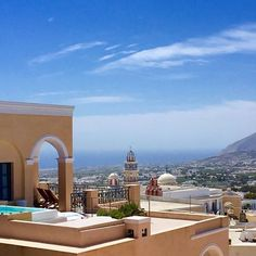 Centrally located in Fira, the neoclassical Archipel is housed in an old mansion and features spacious, furnished terraces with an outdoor hot tub and. Best Hotel Deals, Best Hotels, Santorini Hotels, Instagram Story, Instagram Posts, Neoclassical, Hotel Reviews, Terrace, Villa
