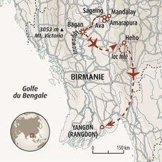 Circuit carte Birmanie : Randonnée au lac Inlé