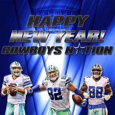What a year & season 2014 was! Here we come 2015! #CowboysNation #HappyNewYear