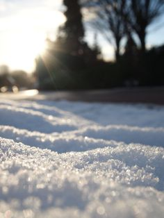 melting the snow