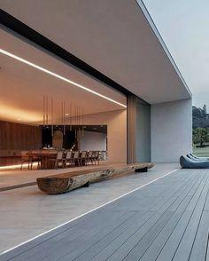58 Stunning Modern Dream House Exterior Design Ideas newport-internati - 58 Stunning Modern Dream House Exterior Design Ideas newport-internati f - Glass House Design, Container House Design, Modern House Design, Modern Glass House, Modern Exterior House Designs, Home Interior Design, Exterior Design, Interior Architecture, Minimalist Architecture