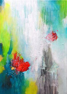 TITRE : Tu es ma tasse de thé Original fine art peinture acrylique sur toile texturée.  +++++++++++++++++++++++++++++++++++++++++++++  STRETCHED ON