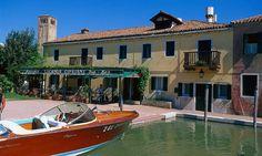Lunch at Locanda Cipriani on Torcello island in the Veneto, Italy - from the main island via Riva.