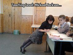 Smooth educator...
