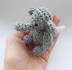Ravelry: Aidan's Elephant crochet amigurumi pattern by Justyna Kacprzak
