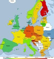 mapa fisico de europa  Buscar con Google  tareas  Pinterest