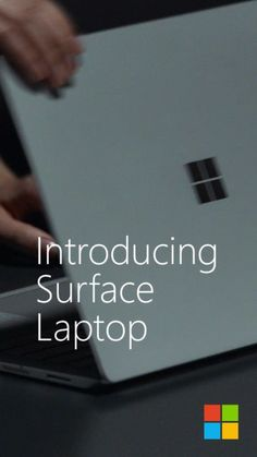 Introducing Surface Laptop. With a rich audio experience that surrounds you.