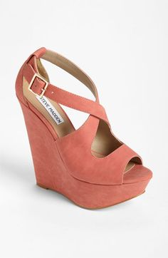 Steve Madden 'Xternal' Wedge Sandal-- I just bought these at Altar'd State, and they are my new faves!
