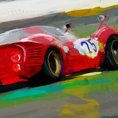 DOUG GARRISON :: MOTORSPORTS ARTWORK :: INDY CAR :: ALMS :: GRAND AM :: ENDURANCE :: FORMULA ONE :: RETRO