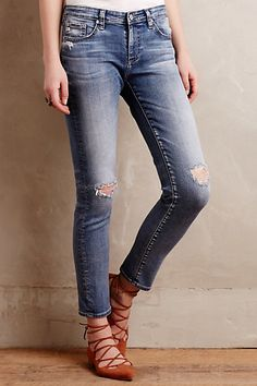 AG Stevie Ankle Jeans #anthropologie