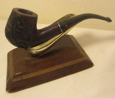 Vintage Willard Rusticated Full Bent Billiard Estate Briar Tobacco Smoking Pipe