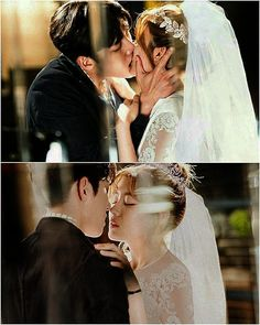 -These edits are amazing Suspicious partner. - On my wedding day I would just live between the sheets for a week and we'd be loving like there was no one else but us in the world. Couple Wedding Dress, Wedding Couples, Cute Couples, Korean Celebrities, Korean Actors, Korean Dramas, Celebs, Ji Chang Wook, Suspicious Partner Kdrama