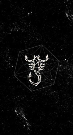 Scorpio Art, Zodiac Signs Scorpio, Zodiac Art, Simplistic Tattoos, Modern Tattoos, Funny Iphone Wallpaper, Tumblr Wallpaper, Aesthetic Drawing, Aesthetic Art